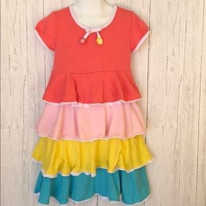 Gymboree Rainbow Layered Dress